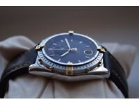 Breitling Reserve De Marche automatic mechanical wristwatch-Power reserve-Swiss - '90s - Shop soiled
