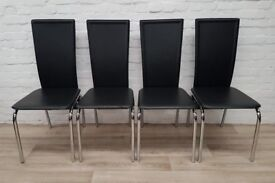 Four Modern Dining Chairs (DELIVERY AVAILABLE)