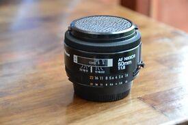 Nikon Nikkor Autofocus Lens - 50 mm - F/1.8, Thatcham, Berkshire