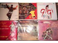 job lot 20 x Vinyl Records LPs Musicals Soundtracks from 1960s 1970s VGC