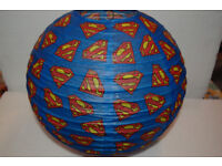 Super Hero Paper Lamp Shades