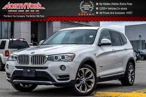 2016 BMW X3 xDrive28i|Pano_Sunroof|Nav|Leather|Pkng Sensors|HT