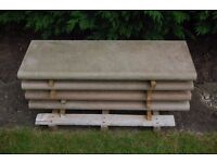 Bull Nosed Stone Steps - Excellent Condition