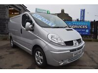 FOR SALE 2012 RENAULT TRAFIC SPORTIVE IN IMMACULATE CONDITION *MUST SEE* SAT NAV VIVARO PRIMASTAR