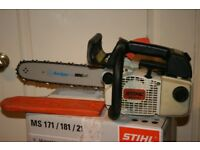 Stihl (MS200T) 020T Petrol chainsaw top handle arborist saw in excellent condition