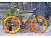 "Brand new NOLOG ""X"" TYPE single speed fixed gear fixie bike/ road bike/ bicycles + 1year warranty 11"