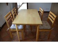 Kithen table & Chairs