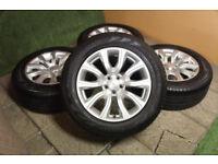 "Genuine Range Rover Evoque / Freelander 2 18"" Alloy wheels 5x108 Land Rover Alloys"