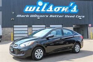 2016 Hyundai Accent $43/WK, 5.49% ZERO DOWN! BLUETOOTH! HEATED S