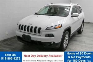 2015 Jeep Cherokee NORTH 4WD w/ ALLOYS! POWER PACKAGE! TOUCH SCR