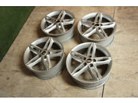 "4x Genuine FORD Focus 17"" Alloy wheels 5x108 Mondeo S-Max C-Max Transit Connect Alloys"