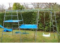 2x TP Climbing Frames and 2x Slides, all £150, cost £689.95