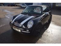 2003 MINI COOPER HATCHBACK MOT UNTIL JULY 2018