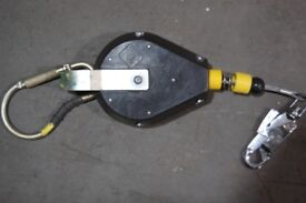 IKAR Fall Arrester EN360 - Length 7 Metres - Used but perfectly working.