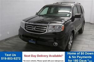 2015 Honda Pilot 4WD TOURING w/ DVD! NAVIGATION! LEATHER! SUNROO