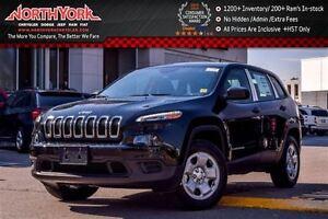 2017 Jeep Cherokee NEW Car Sport|4x4|Cold Wthr Pkg|RearCam|Bluet