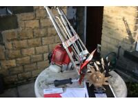 Mantis tiller/rotivater with Honda GX31 four stroke engine in excellent condition