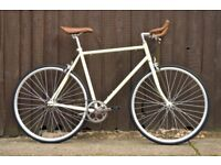 Brand new Hackney Club single speed fixed gear fixie bike/ road bike/ bicycles + 1year warranty hhh5