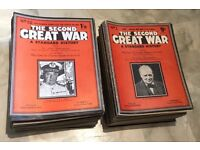 THE SECOND GREAT WAR MAGAZINE COMPLETE No. 1 TO No. 104