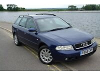 Audi A4 Avant Estate 2.5 TDI V6 six speed (Not Quattro, Not RS4, Not RS6) Family Car Wagon