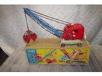 Gama (Germany) No.2806 large Mechanical Crane with grab