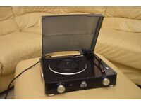 Record player, Stylo Turntable, portable 3 speed player (like new).