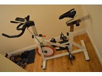 CrystalTec Exercise Bike/ very good condition