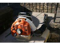 Stihl Br430 back pack leaf blower