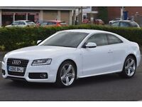 Audi A5 2.0 TDI S Line 2dr £11,599 2010 (10 reg), Coupe 2 keys 2 owners Full dealership history