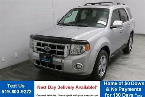 2011 Ford Escape 4WD LIMITED w/ LEATHER! SUNROOF! ALLOYS! PARKIN