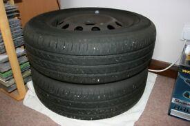 Ford Focus MK 1 wheels with Yokohama Tyres nearly new