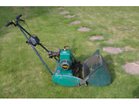 Qualcast suffolk punch lawnmower 35S.