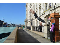 Fitness training - functional movement and parkour
