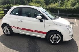 FIAT 500 1.2 LOUNGE 3dr *ITALIAN EDITION* PANORAMIC SUNROOF £30 TAX ( SEE PHOTOS)