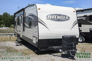 2016 Forest River Prime Time Avenger 25TH Toy Hauler Travel Trai