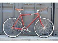 Brand new single speed fixed gear fixie bike/ road bike/ bicycles + 1year warranty & free service cj