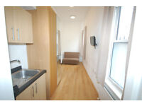 BRIGHT SINGLE STUDIO FLAT/KITCHENETTE/SHOWER ROOM/IDEALLY LOCATED FOR HEPHERDS BUSH & HAMMERSMITH