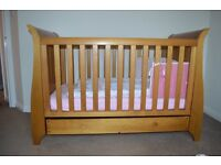 King Parrot by Boori sleigh cot bed