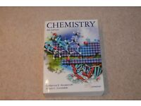 Chemistry, by Catherine E Housecroft 4th Edition. Excellent Condition £40 ono