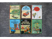The Adventures of Tintin Graphic Novels