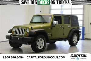 2007 Jeep Wrangler X Convertible PST PAID