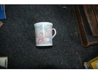 3 Teddy bear mugs, one Stag other Britannia