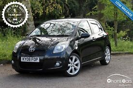 Toyota Yaris VVT-i SR 5dr £3495