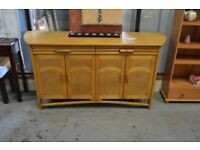 Cane and Rattan Sideboard - GT 045