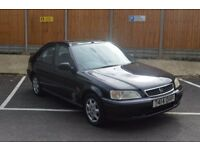 HONDA CIVIC 5 DOOR AUTOMATIC,LAST OWNER 12 YEARS,VERY RELIABLE