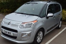 2014 CITROEN C3 PICCASO EXCLISIVE 1.6 HDI 34381 MILES 1 OWNER