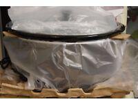 Morphy Richards 6.5L Slow Cooker Removable Pot Oval Titanium 461008