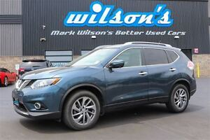 2014 Nissan Rogue SL AWD! LEATHER! SUNROOF! NAVIGATION! 360 CAME