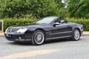 2006 Mercedes-Benz SL-Class SL55 AMG -- 500 H.P MONSTER -- BLACK