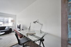 Large unfurnished 1 bedroom, downtown Montreal
